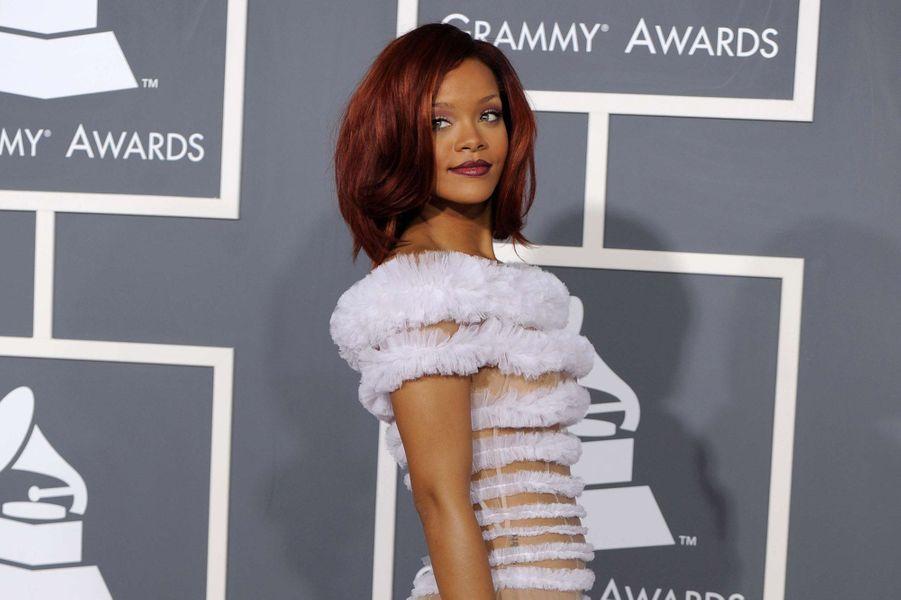 Rihanna, le 13 février 2011.
