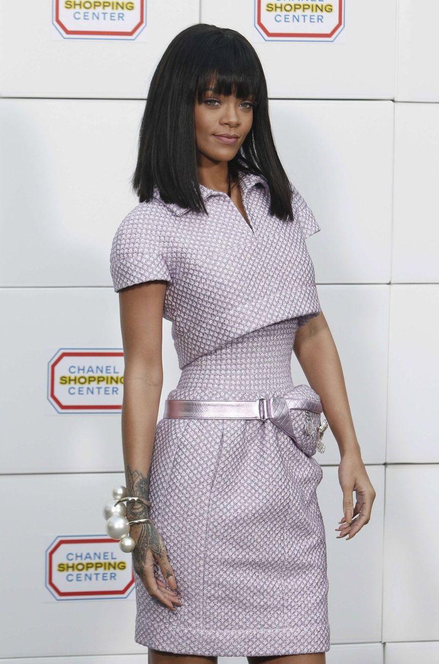 Rihanna, le 4 mars 2014.
