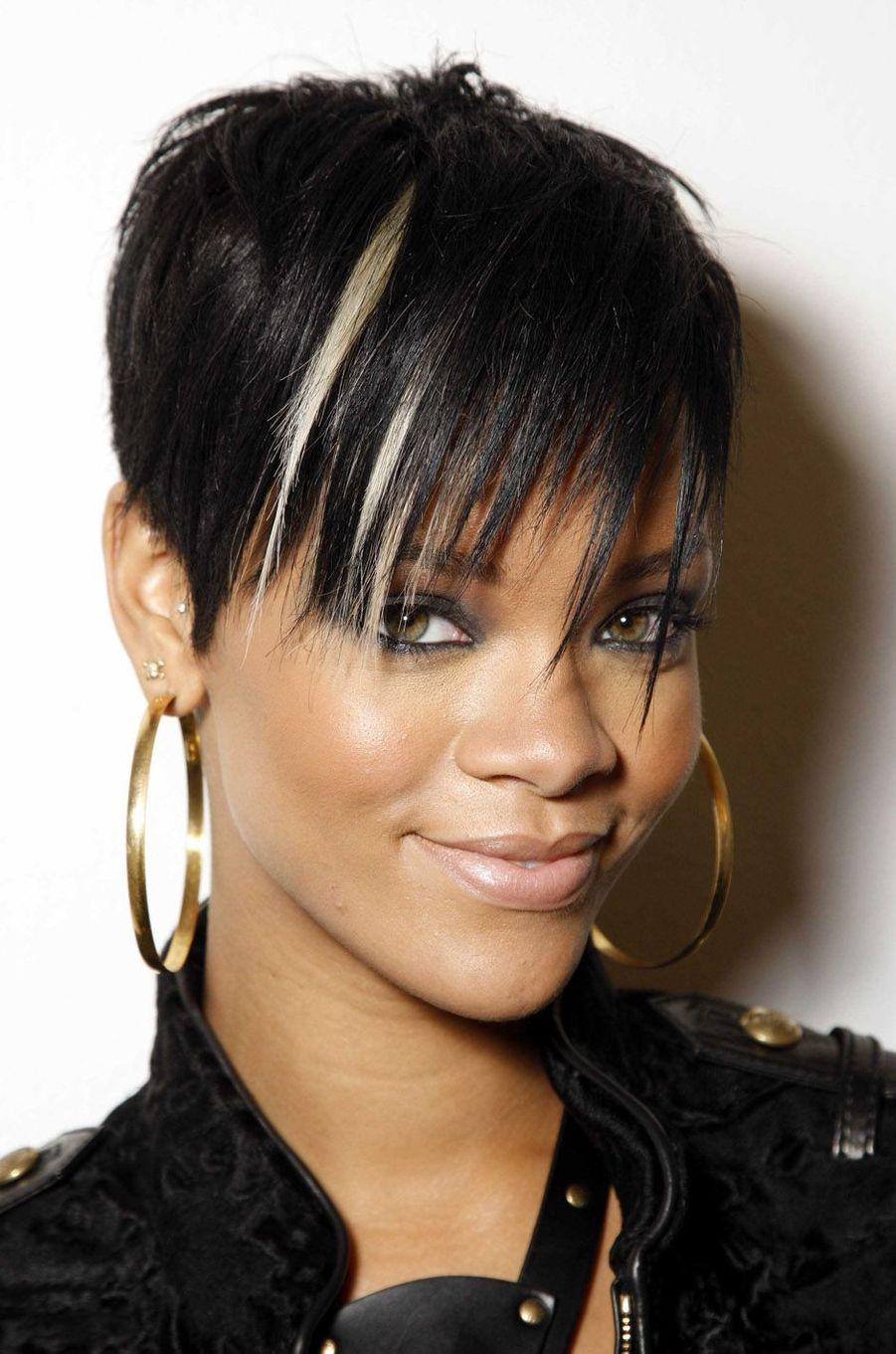Rihanna, le 24 septembre 2008.