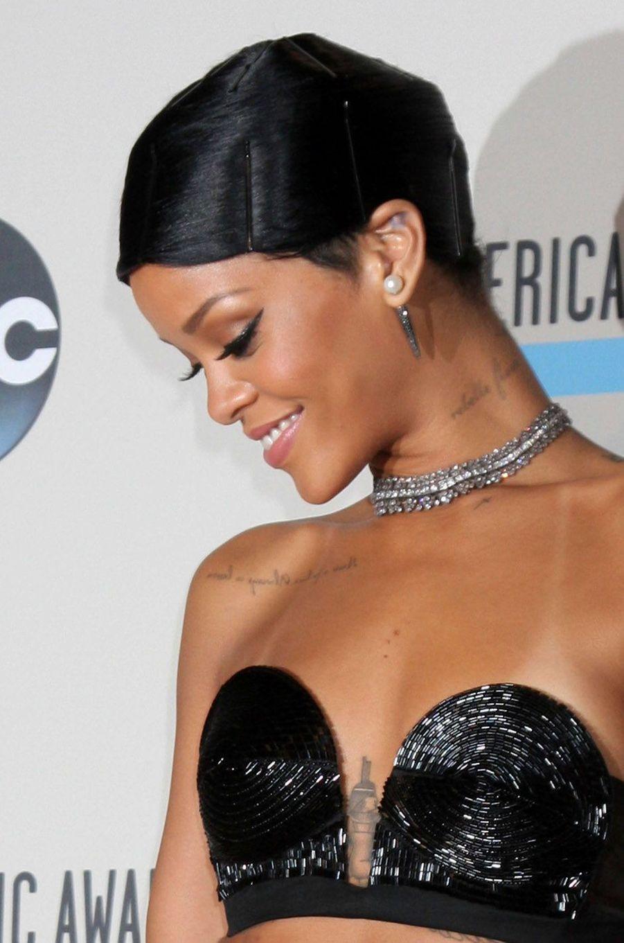 Rihanna, le 24 novembre 2013.