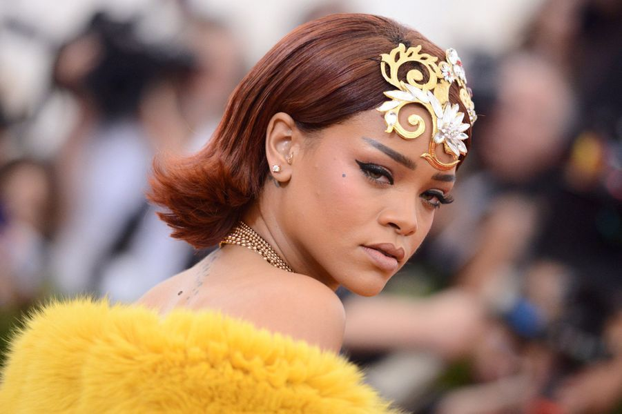 Rihanna, le 4 mai 2015.