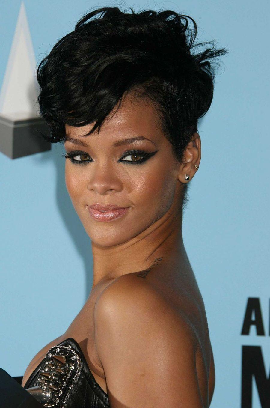 Rihanna, le 23 novembre 2008.