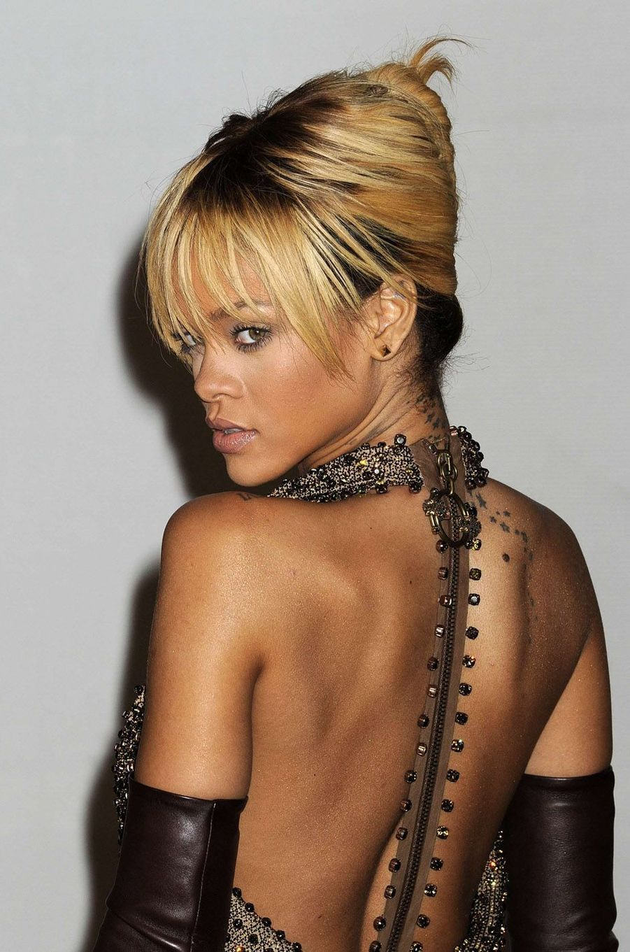 Rihanna, le 21 février 2012.
