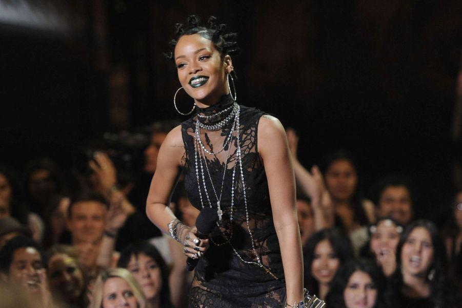 Rihanna, le 1er mai 2014.