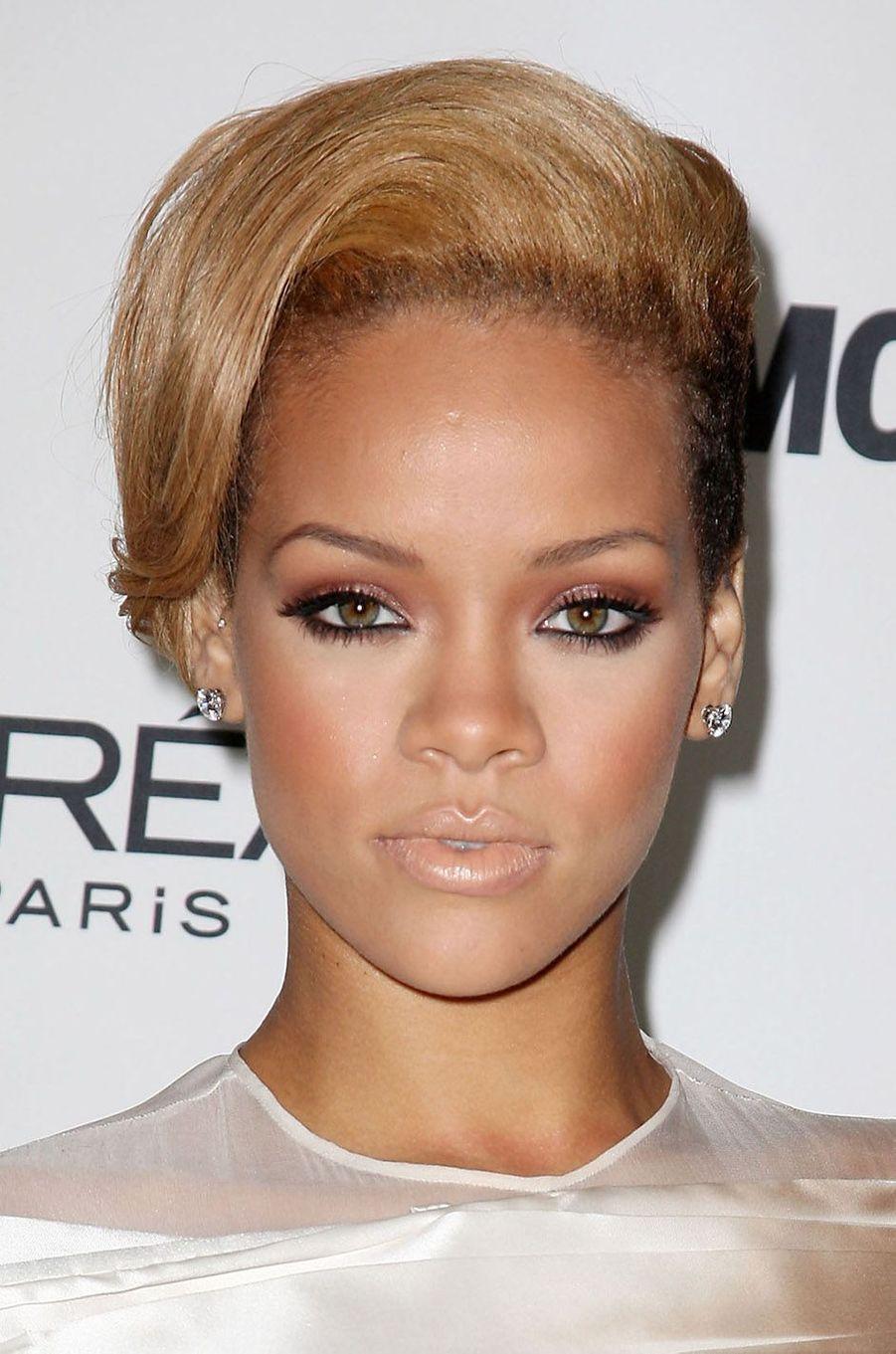 Rihanna, le 9 novembre 2009.