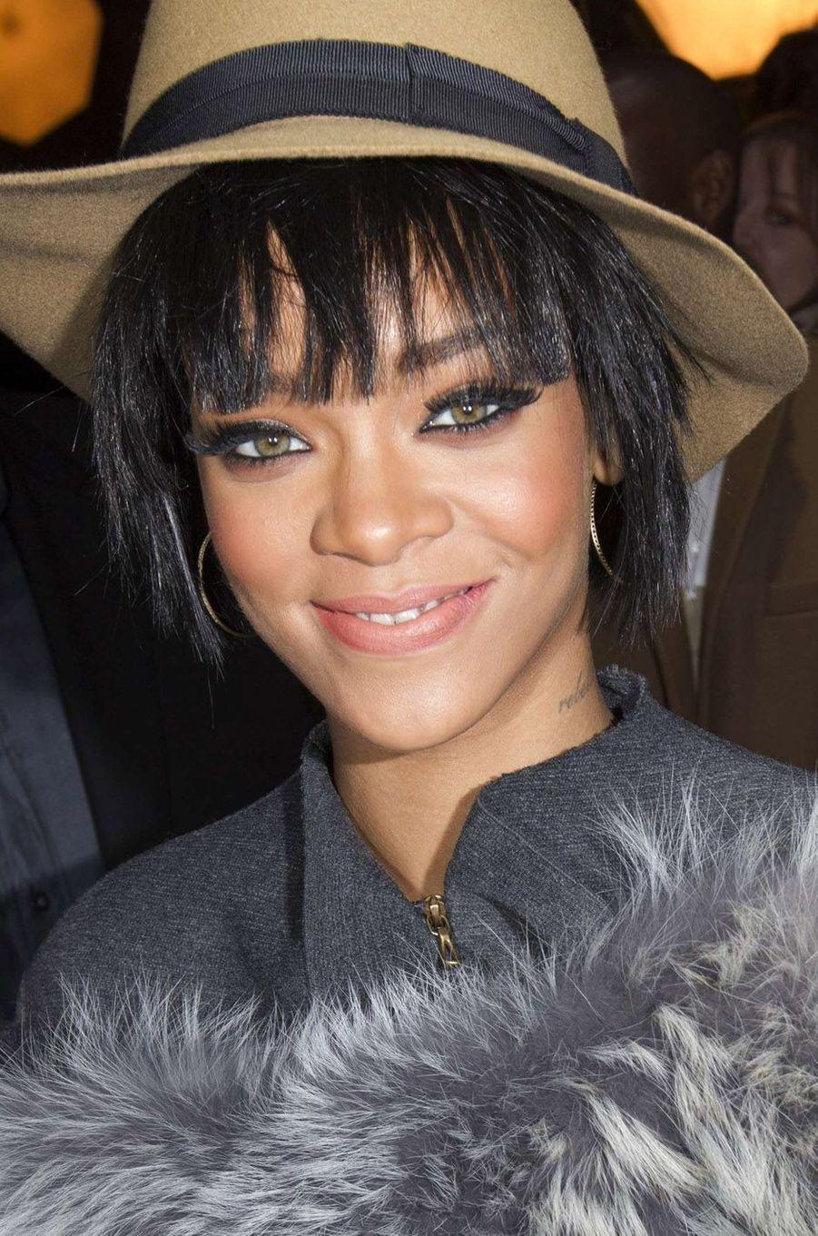 Rihanna, le 27 février 2014.