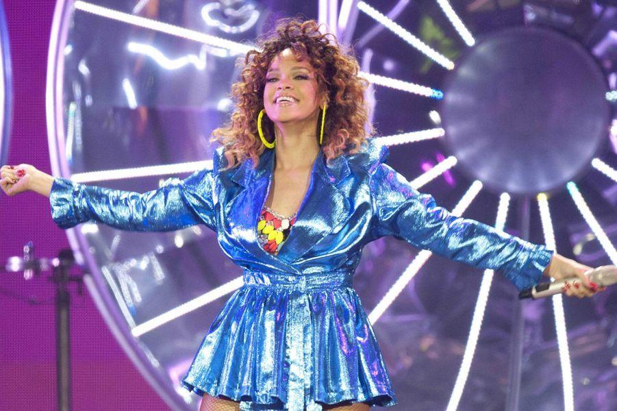 Rihanna, le 22 décembre 2011.