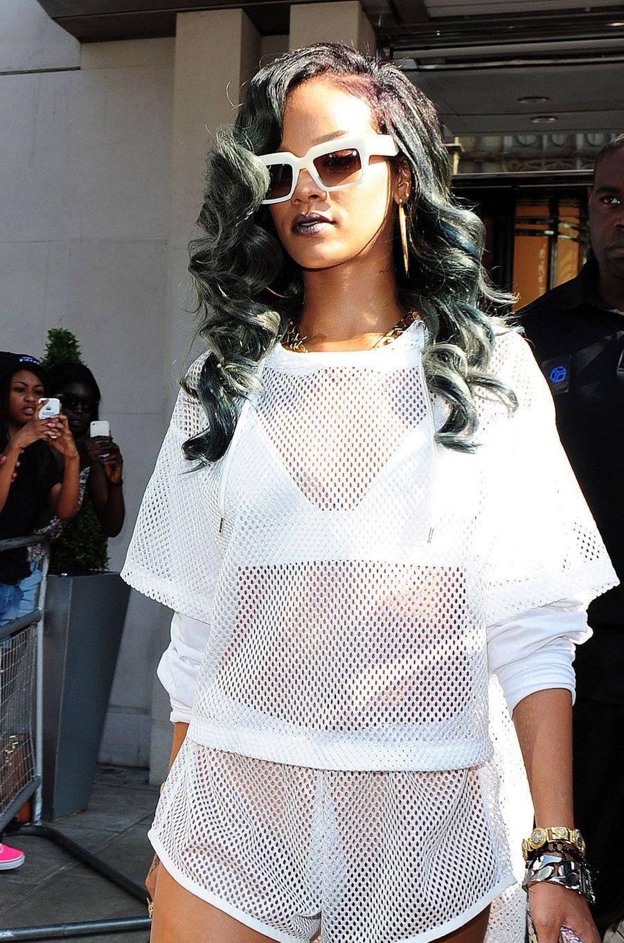 Rihanna, le 18 juillet 2013.