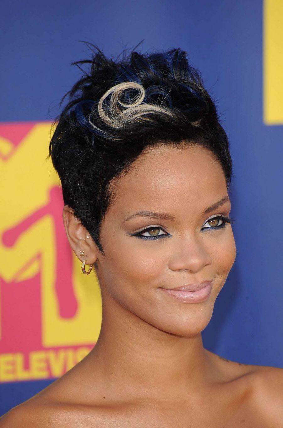 Rihanna, le 7 septembre 2008.