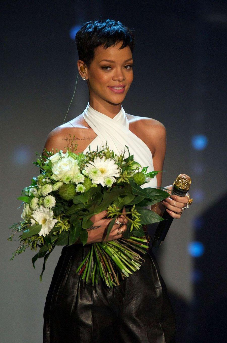 Rihanna, le 8 décembre 2012.
