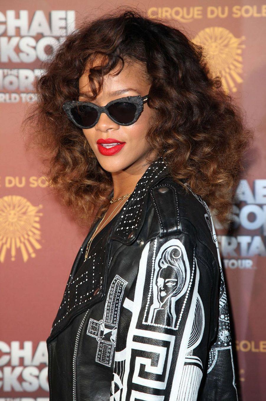 Rihanna, le 27 janvier 2012.