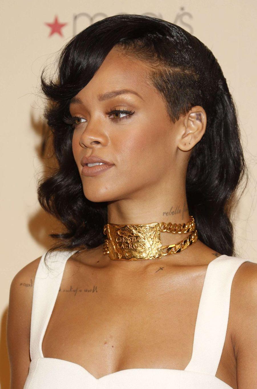 Rihanna, le 1er décembre 2012.