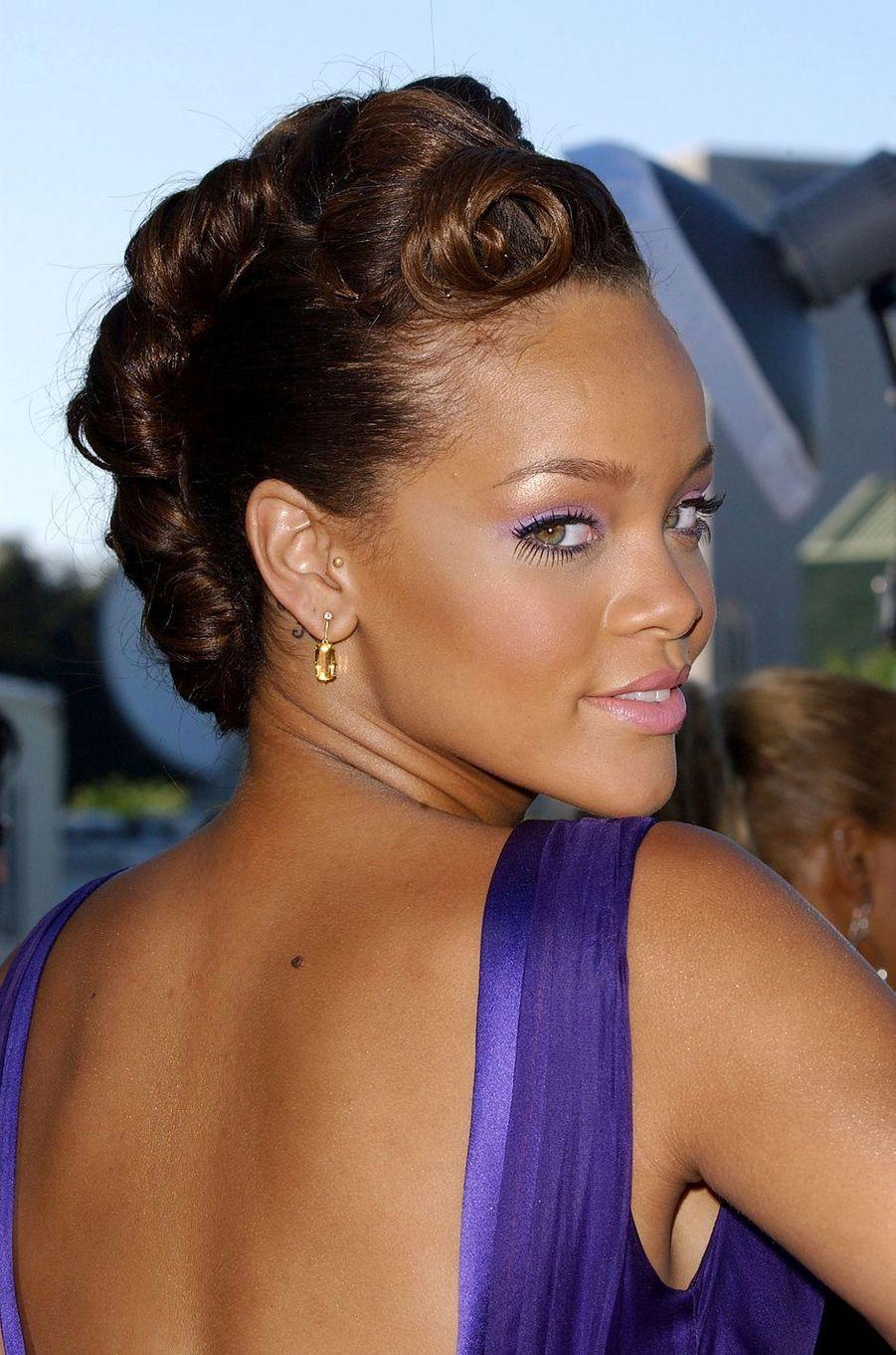 Rihanna le 21 août 2006 à Los Angeles.