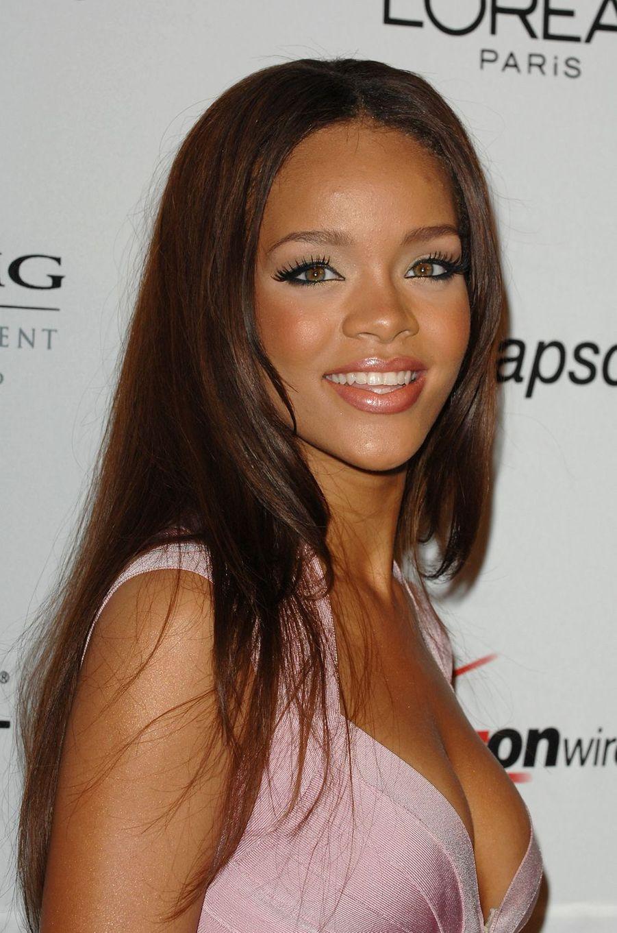Rihanna le 10 février 2007.