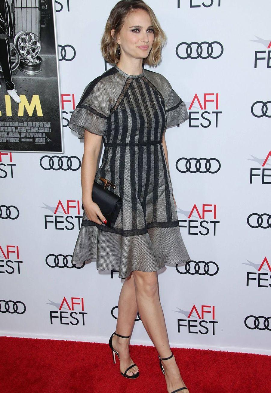 Natalie Portmanà la première du film «Queen & Slim» lors de l'AFI Fest à Los Angeles le 14 novembre 2019