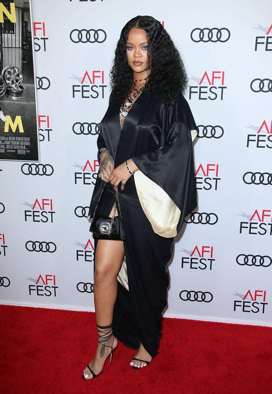 Rihanna à la première du film «Queen & Slim» lors de l'AFI Fest à Los Angeles le 14 novembre 2019