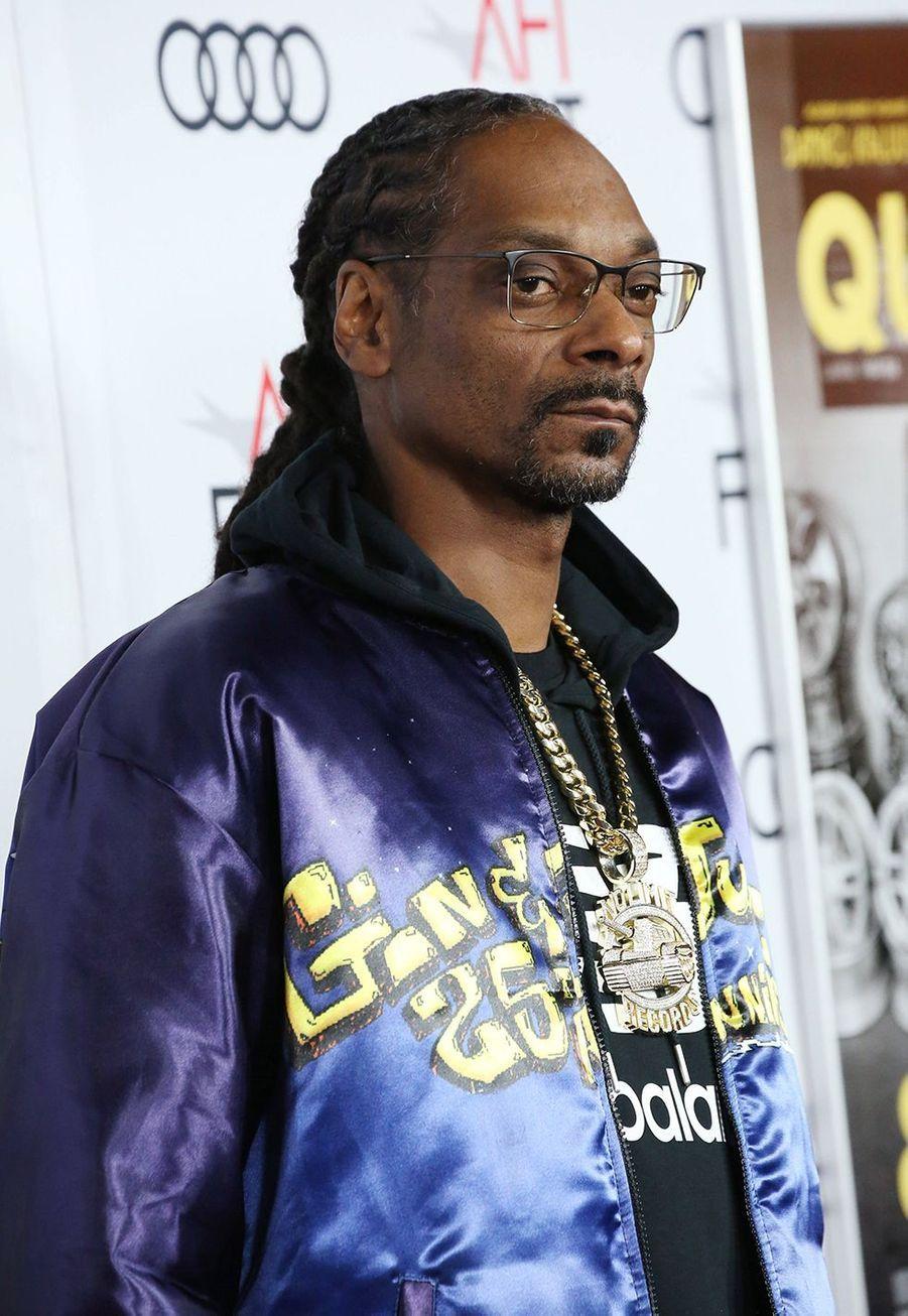 Snoop Doggà la première du film «Queen & Slim» lors de l'AFI Fest à Los Angeles le 14 novembre 2019