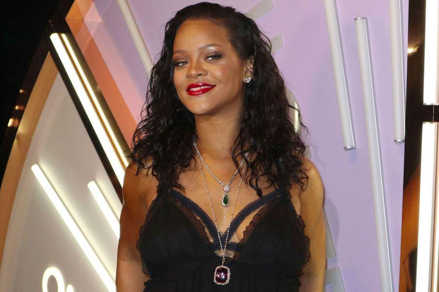 Rihanna à la soirée de lancement Savage x Fenty à New York le 10 mai 2018