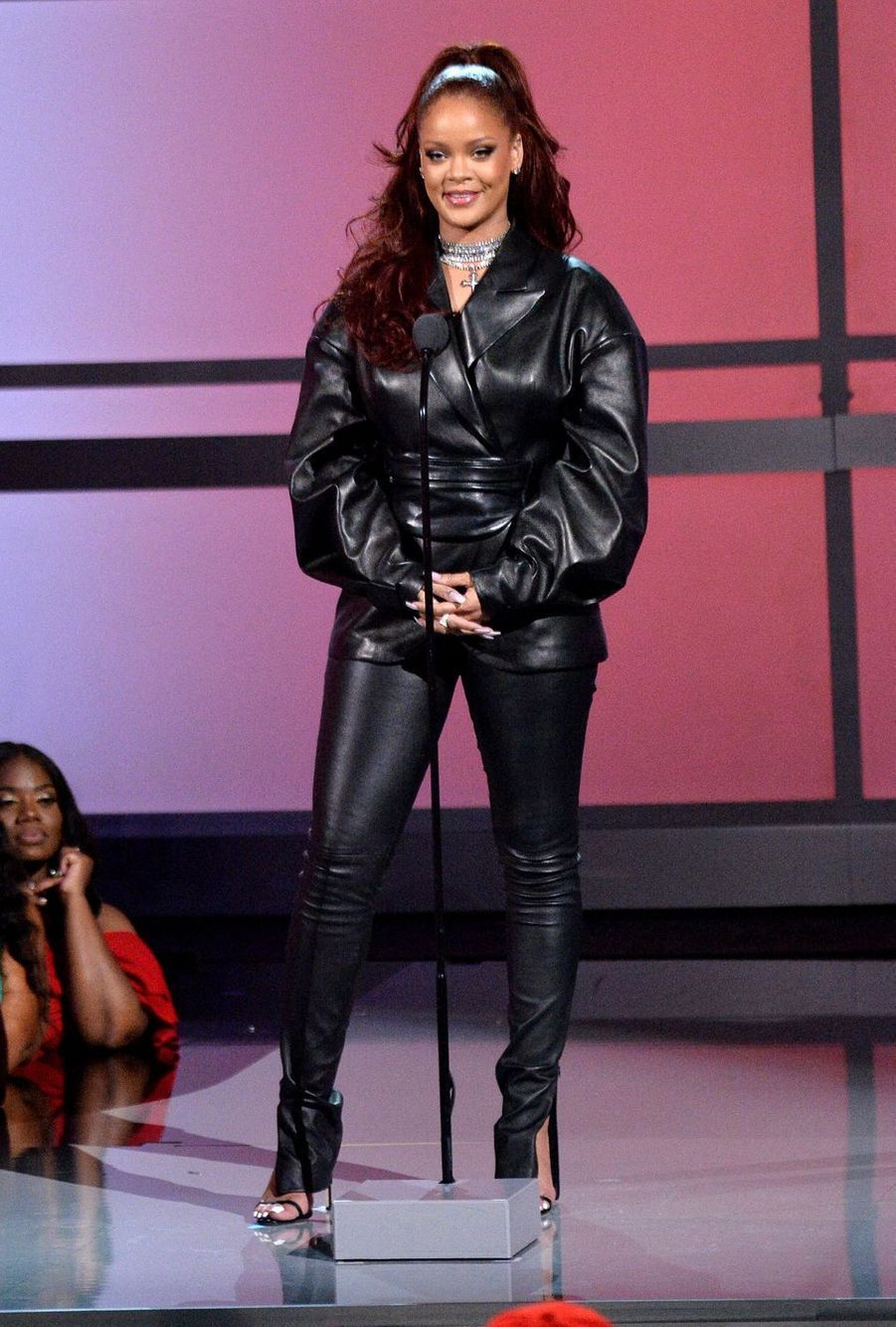 Rihanna aux BET Awards à Los Angeles le 23 juin 2019