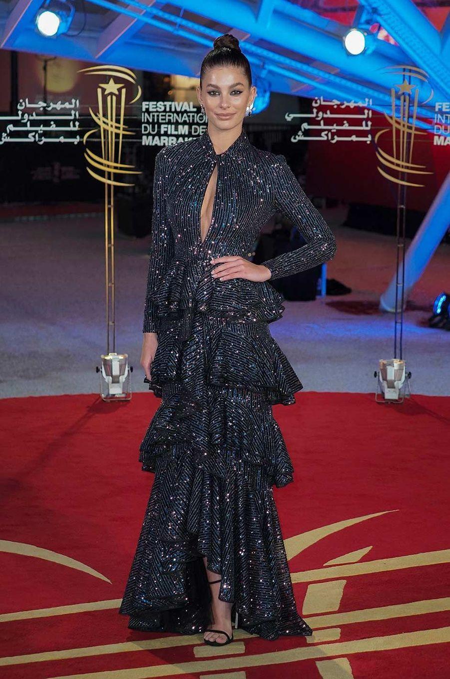 Camila Morroneau Festival du film de Marrakech, le 6 décembre 2019.