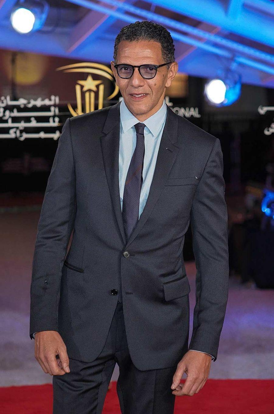 Roschdy Zemau Festival du film de Marrakech, le 6 décembre 2019.