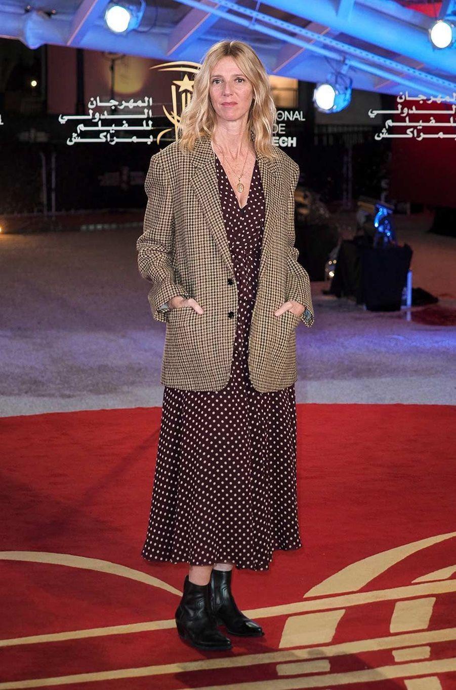 Sandrine Kiberlain au Festival du film de Marrakech, le 6 décembre 2019.