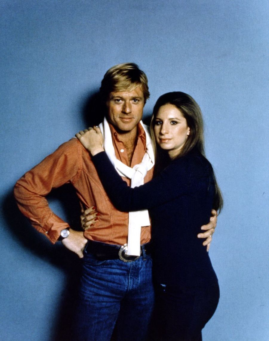 "Robert Redford et Barbra Streisand dans ""Nos plus belles années"", 1973"