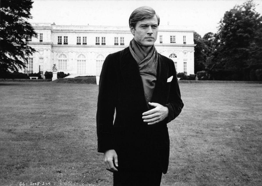 """Robert Redford dans """"Gatsby le Magnifique"""", 1974"""