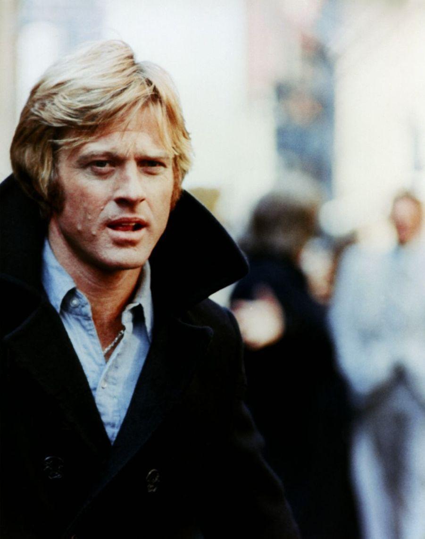 """Robert Redford sur le plateau du film """"Les Trois Jours du Condor"""", 1975"""