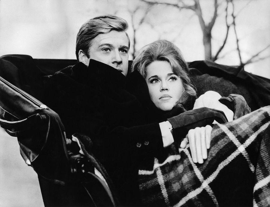 """Robert Redford et Jane Fonda dans """"Pieds nus dans le parc"""", 1967"""