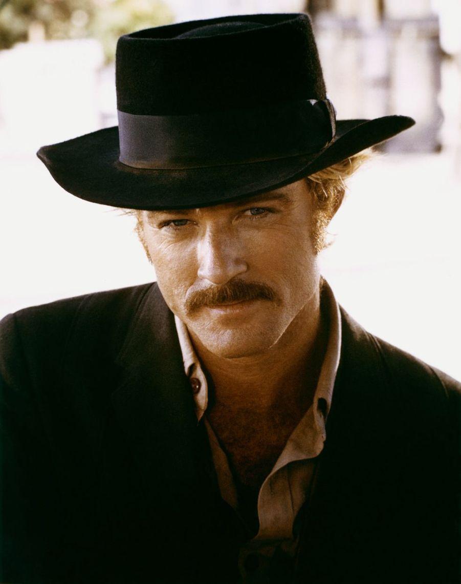 """Robert Redford sur le plateau du film """"Le Cavalier électrique"""", 1979"""