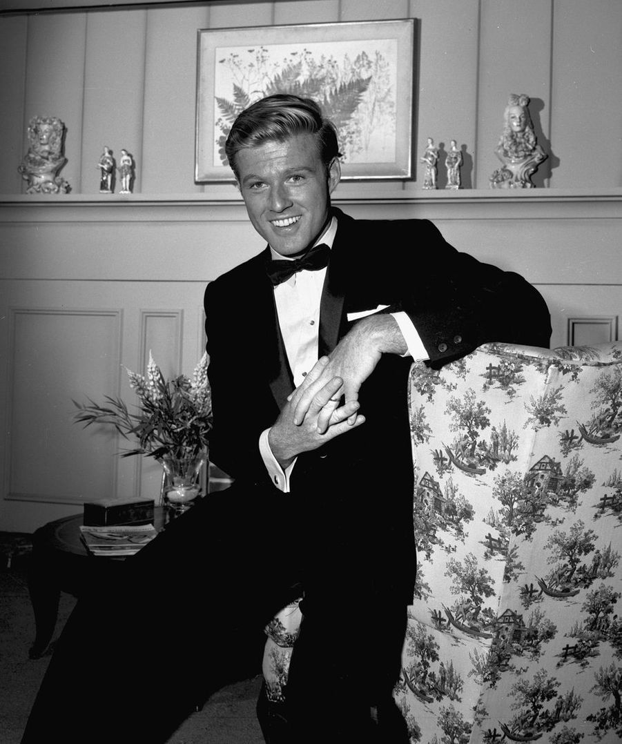 "Robert Redford dans ""Alfred Hitchcock présente"", épisode ""A Tangled Web"", 1963"
