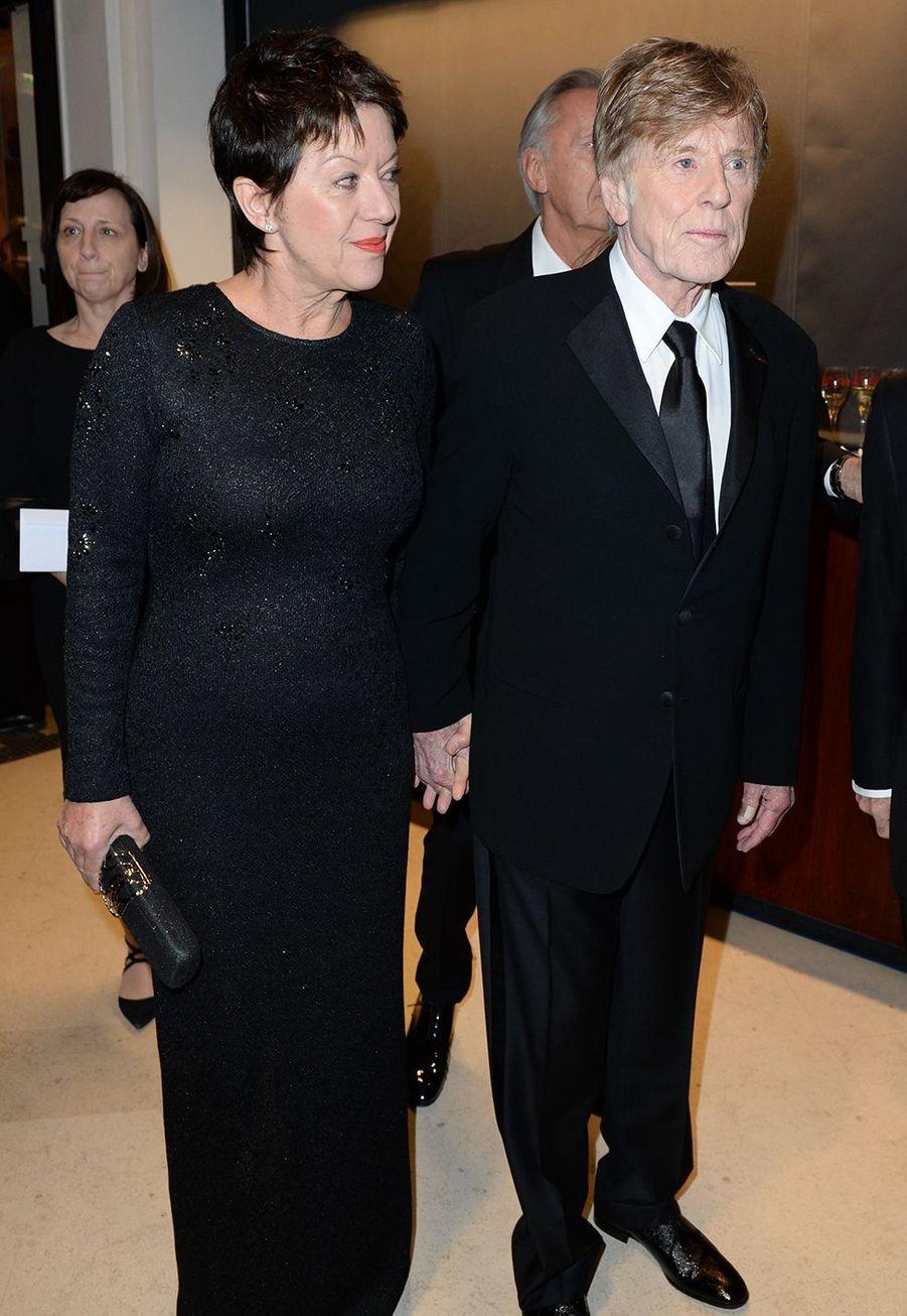 Robert Redford et son épouse Sibylle à la 44e cérémonie des César le 22 février 2019 à Paris