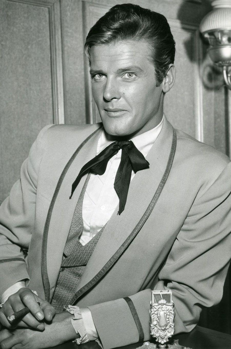 Roger Moore en 1960
