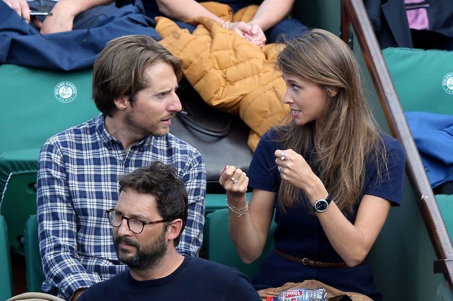 Ophélie Meunier et son compagnon Mathieu Vergne
