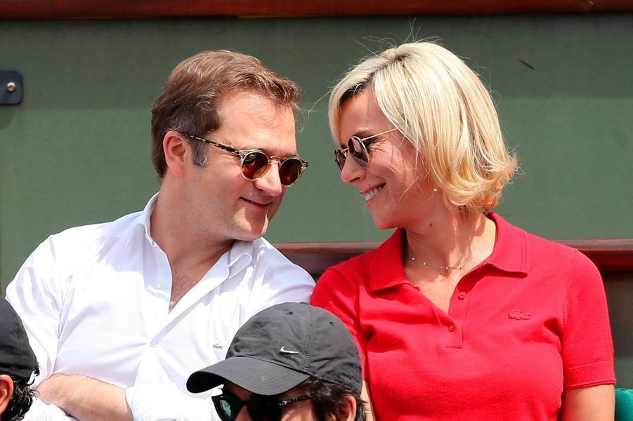 Renaud Capuçon et sa femme Laurence Ferrari