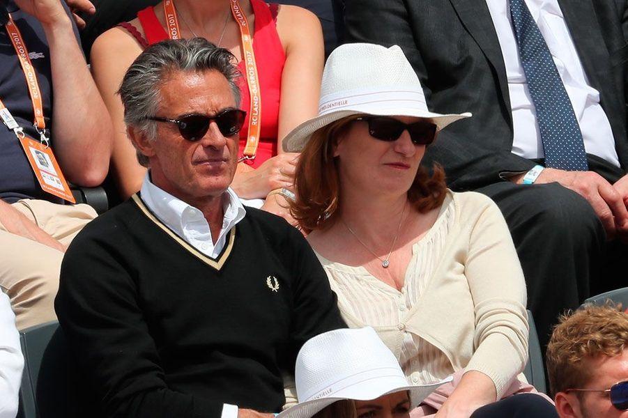Gérard Holtz et sa femme Muriel Mayette