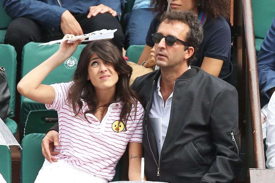 Cyrille Eldin et sa compagne Sandrine Calvayrac