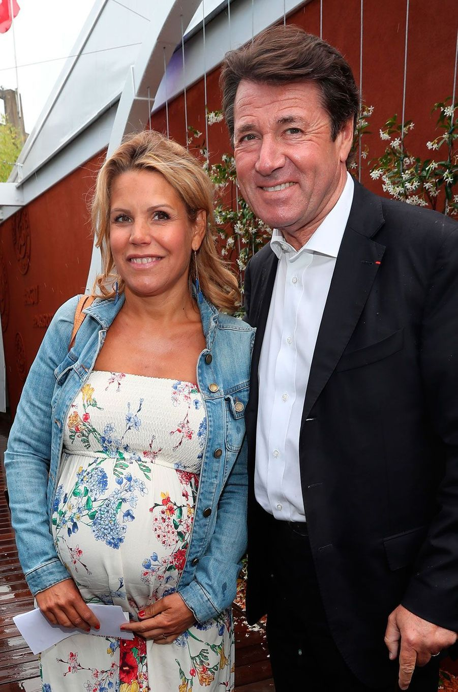 Laura Tenoudji et son compagnon Christian Estrosi