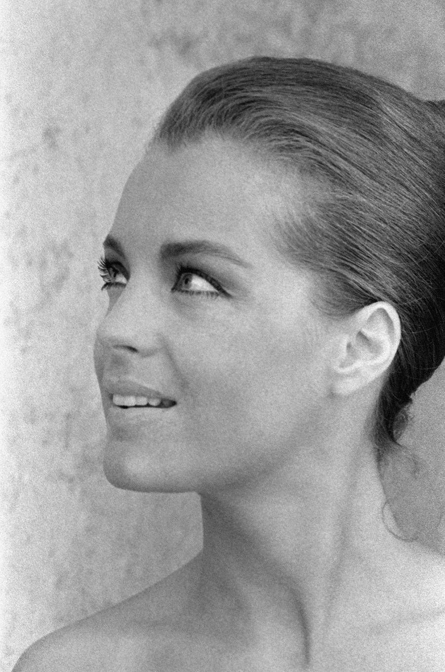 Romy Schneider en 1966.