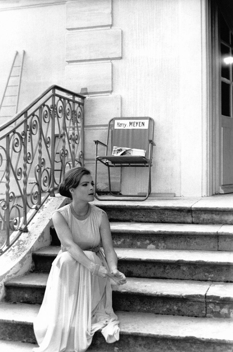 Romy Schneider en 50 photos d'exception.