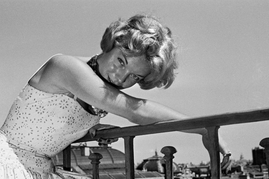 Romy Schneider en 1961