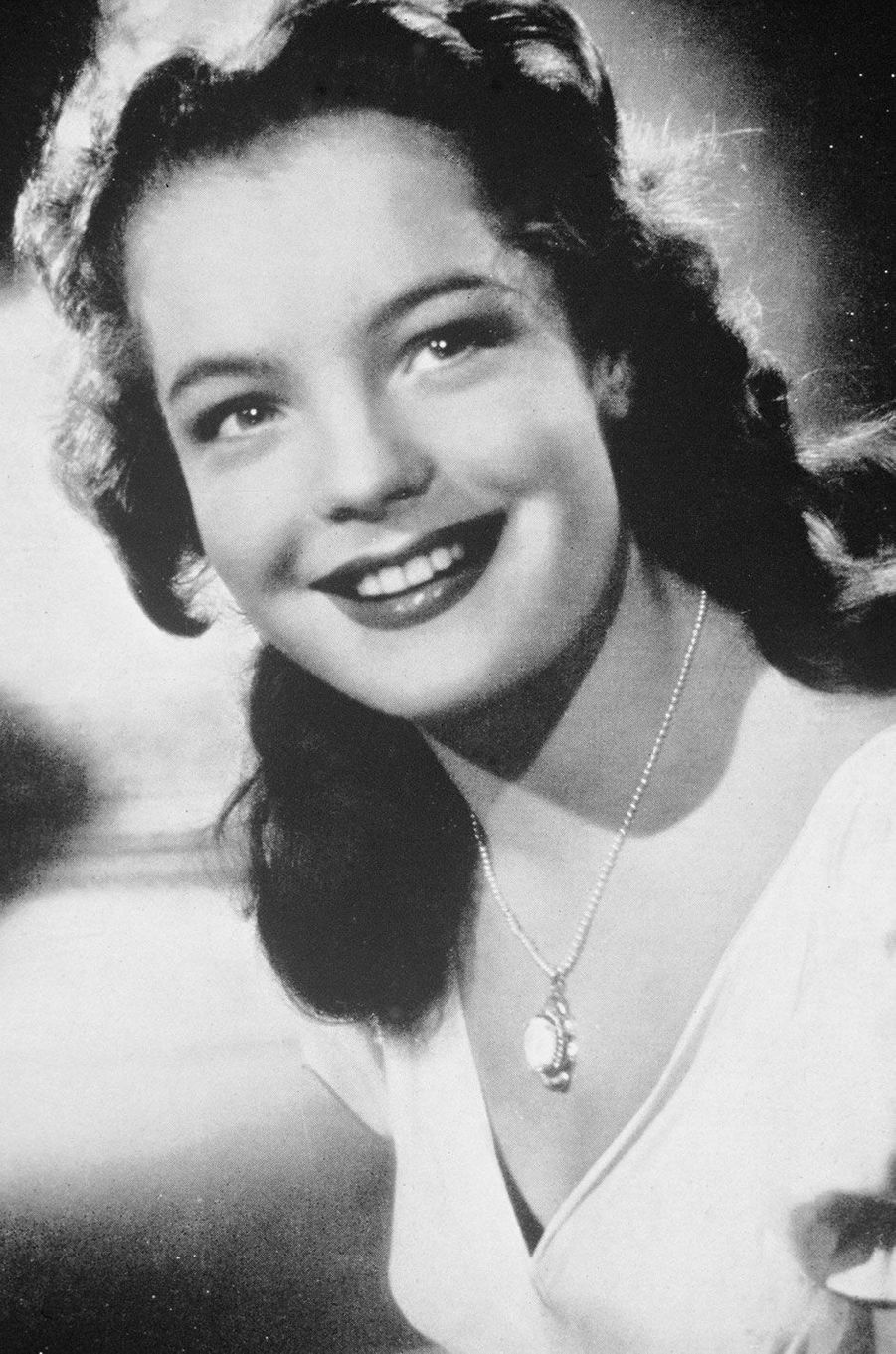 Romy Schneider dans les années 50