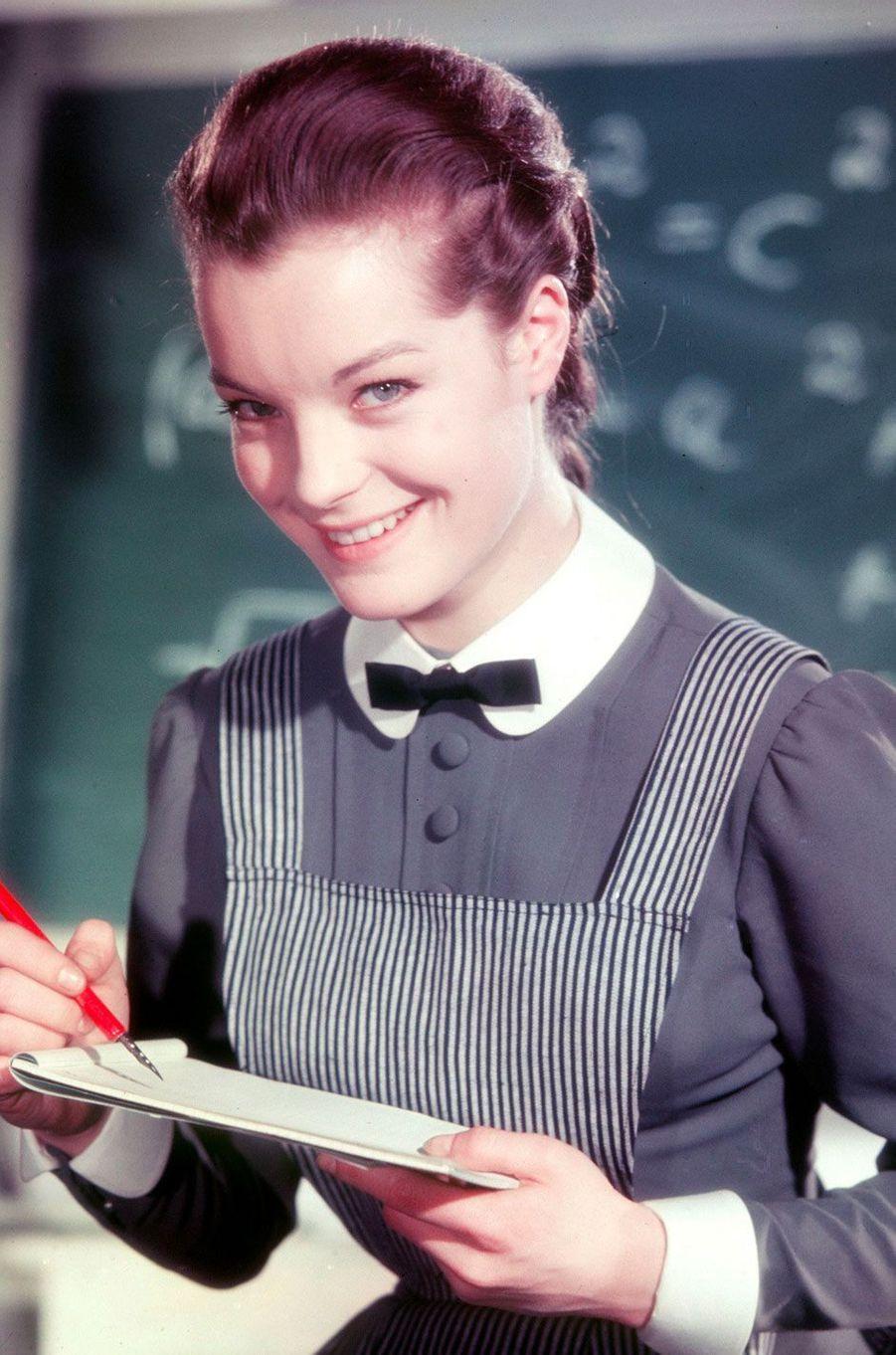 Romy Schneider en 1958