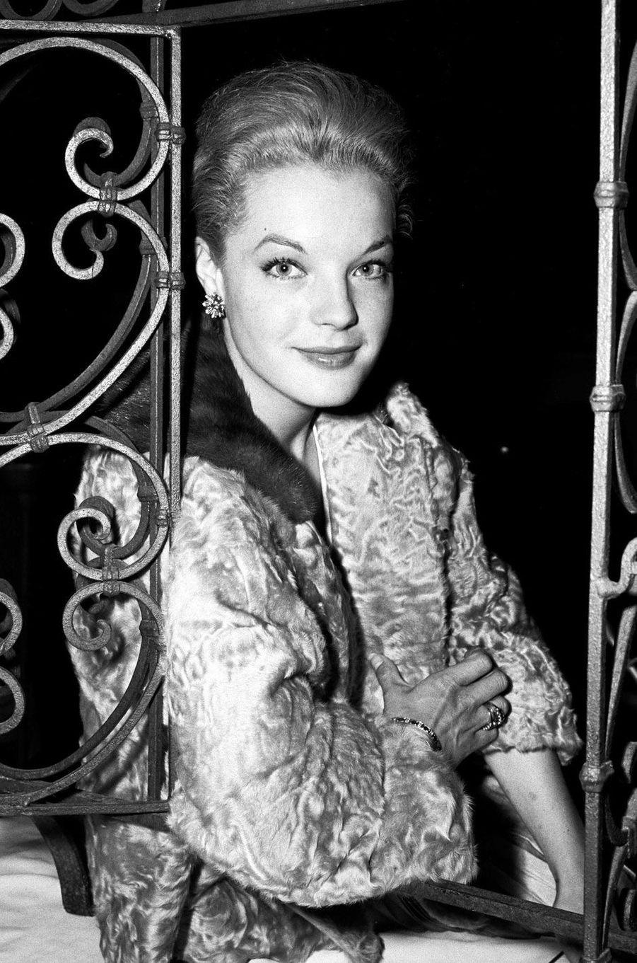 Romy Schneider en 1959