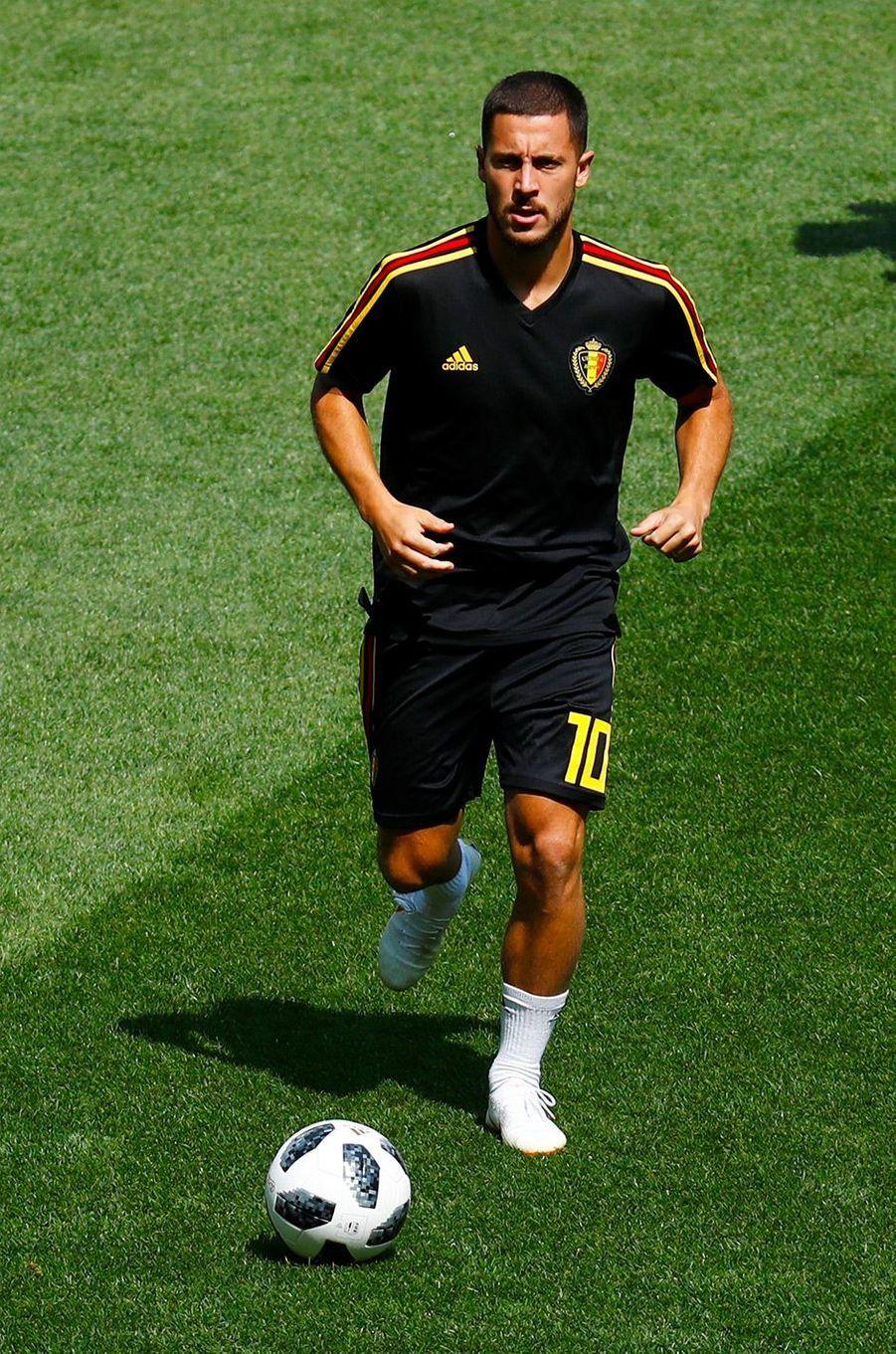 Eden Hazard en 2018