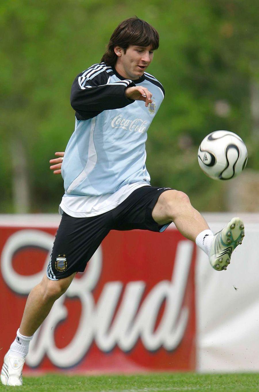 Lionel Messi en 2006