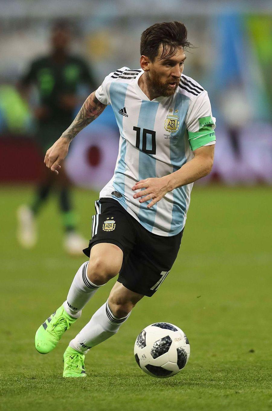 Lionel Messi en 2018