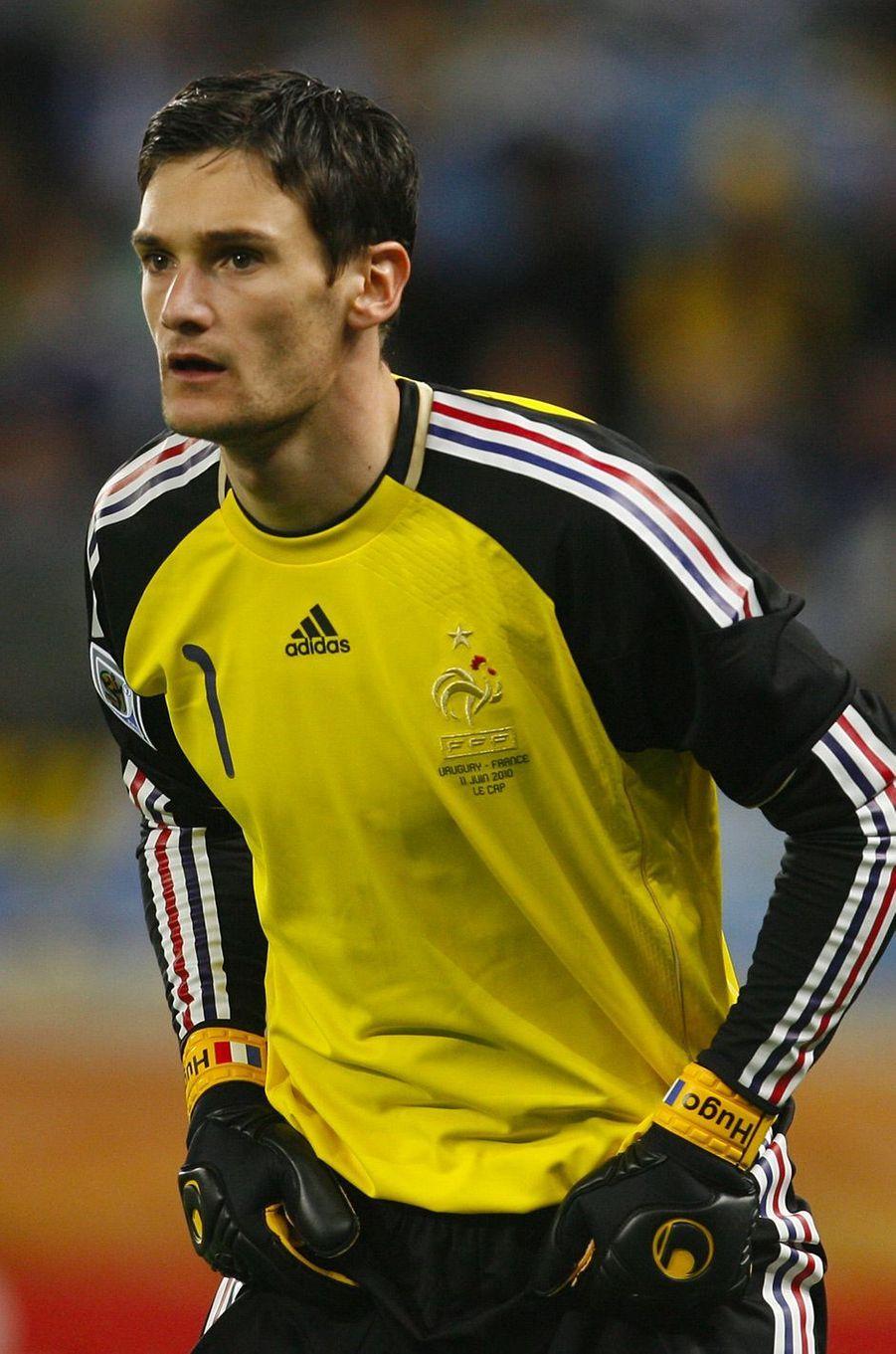 Hugo Lloris en 2010