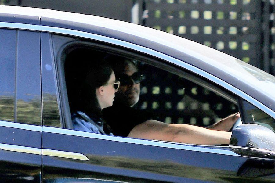 Joaquin Phoenix et Rooney Maraà Los Angeles le 6 août 2020